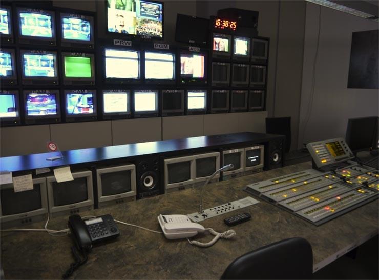 Όλα έτοιμα στο control room