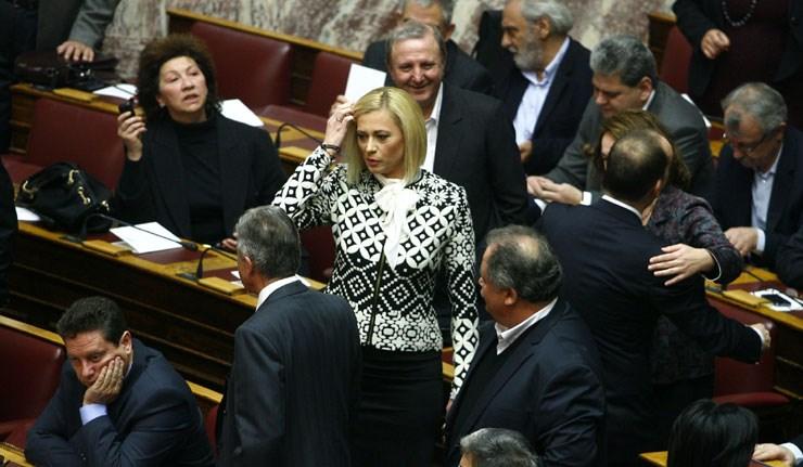 Η βουλευτής του ΣΥΡΙΖΑ Ραχήλ Μακρή