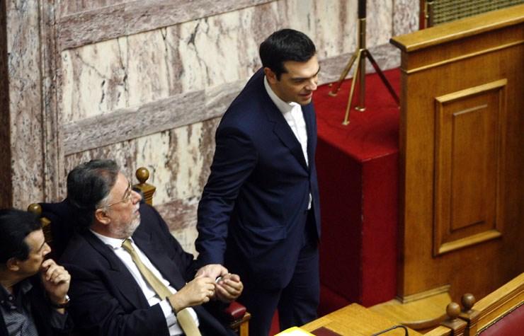 Ο πρωθυπουργός της Ελλάδας Αλέξης Τσίπρας