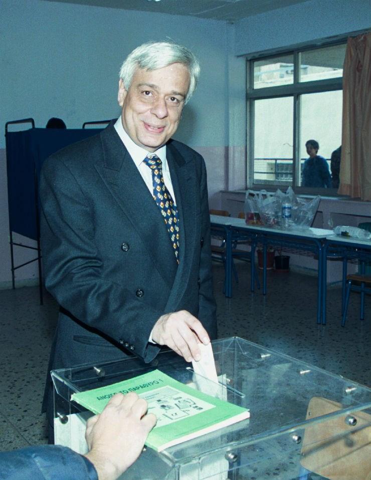 Στις βουλευτικές εκλογές του 2000...