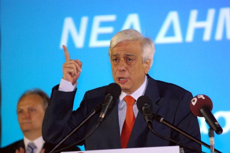 Κατά τη διάρκεια προεκλογικής ομιλίας, το 2009