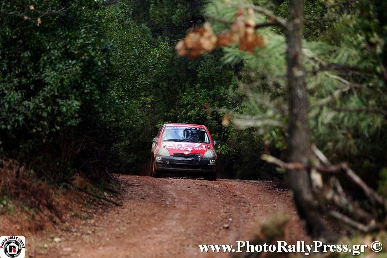 Mε Toyota Yaris και οι Αλέξανδρος και Ζήσης Τζέλλος