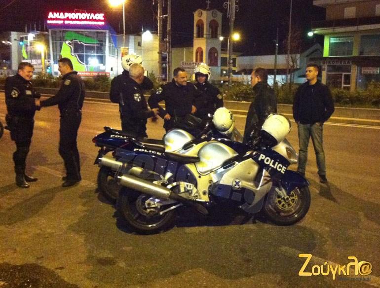 Την εμφάνισή τους έκαναν και τα Suzuki Hayabusa της ομάδας ΔΙΑΣ προκαλώντας αναστάτωση...