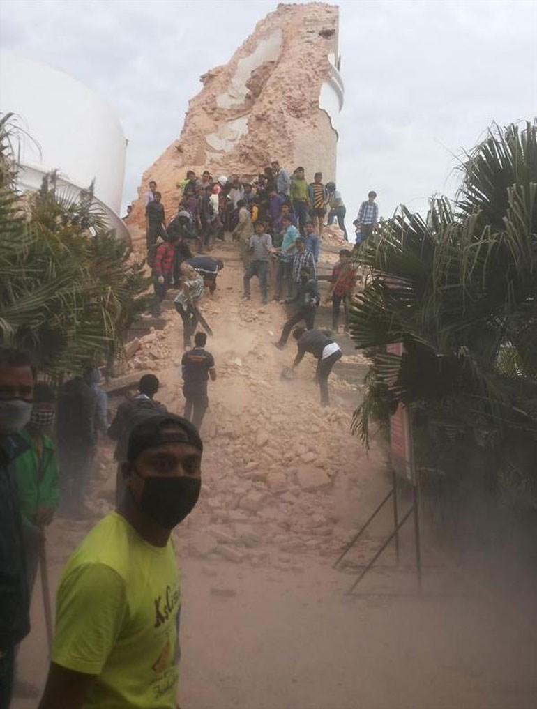 Ό, τι απέμεινε από τον ιστορικό πύργο Νταράρα