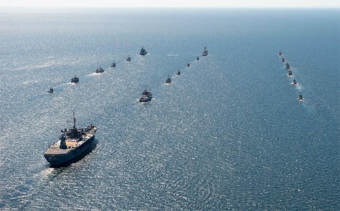 Ναυτικά γυμνάσια BALTOPS στη Βαλτική Θάλασσα