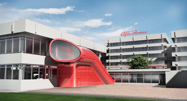 To μουσείο της Alfa Romeo βρίσκεται στο Τορίνο