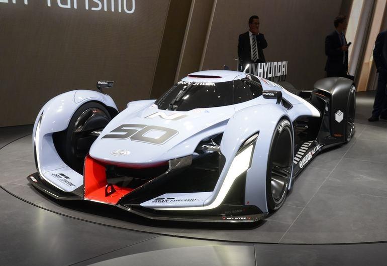 Μήπως η Hyundai έχει ξεφύγει; Ένα από τα πρωτότυπα που παρουσίασαν οι Κορεάτες στην Φρανκφούρτη...
