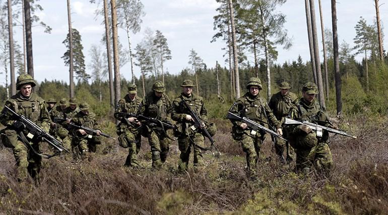 ΝΑΤΟϊκή άσκηση στην Εσθονία