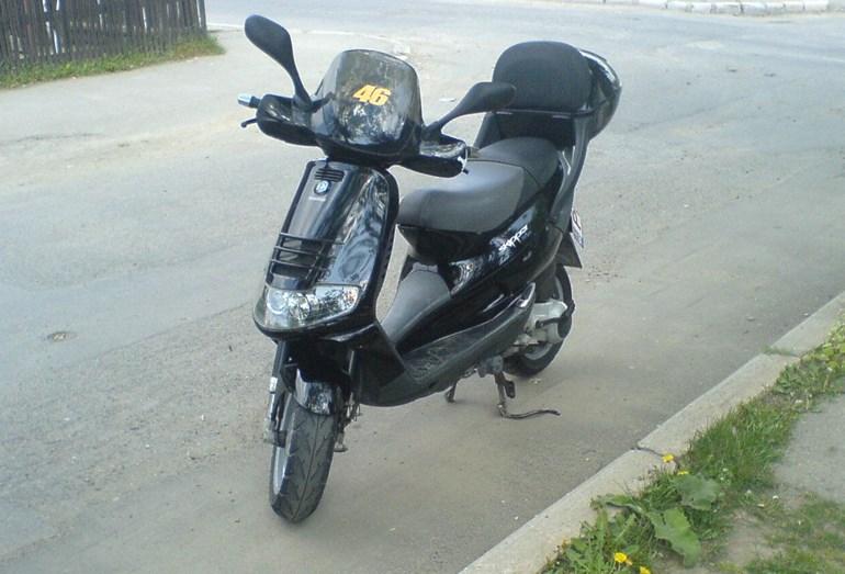 Ένα τέτοιο scooter βγαίνει σε δημοπρασία με τιμή εκκίνησης τα 180 ευρώ!!!