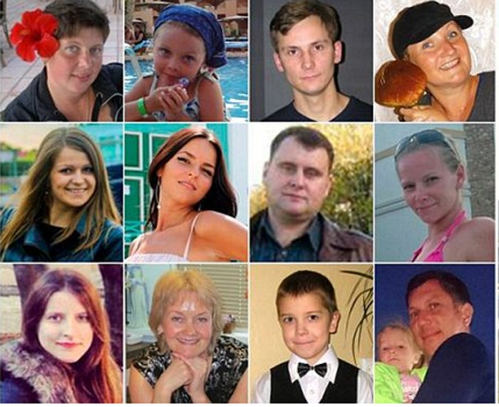 Tα πρόσωπα της τραγωδίας σύμφωνα με τη Daily Mail