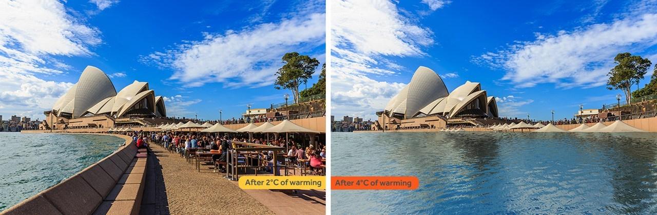 Η συγκριτική εικόνα στο Σίδνεϊ