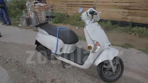 Το μηχανάκι που διήνυσε 10 χλμ με καύσιμο το απλό νερό