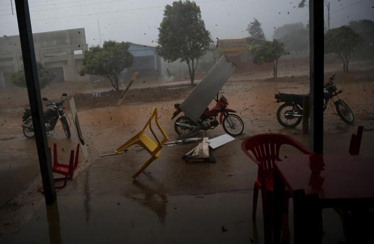 Τροπική βροχή στη Βραζιλία- Νοέμβριος 2015/Nacho Doce