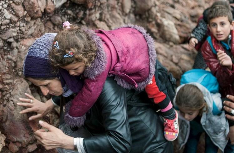 Το προσφυγικό δράμα,11 Οκτωβρίου 2015/Φώτης Πλέγκας