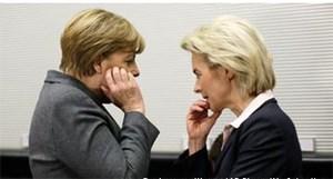 Προβληματισμός για τις αποφάσεις Μέρκελ και  της υπουργού Άμυνας