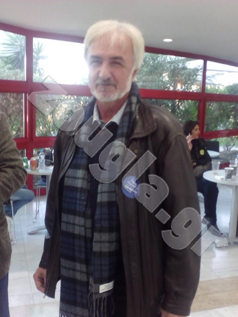 Τάσος Κονακλίδης, πρώην πρόεδρος ΤΕΕ/ΤΚΜ (υποστηρικτής Β. Mεϊμαράκη)