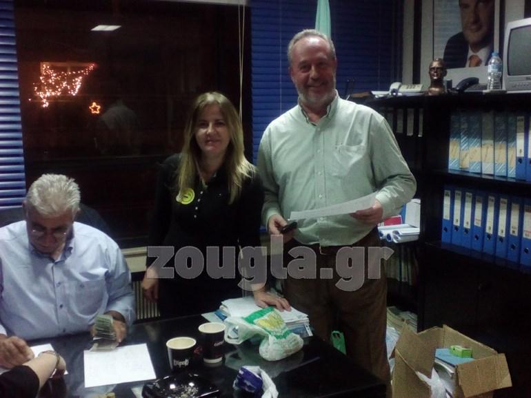 Μετάδοση αποτελεσμάτων από εκλογικά τμήματα της Θεσσαλονίκης