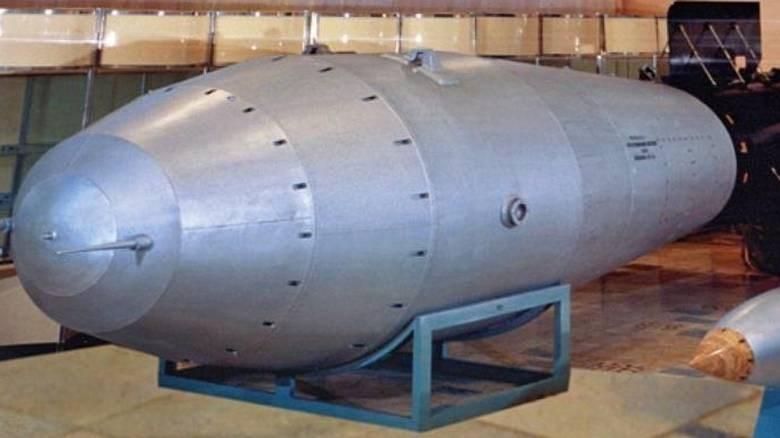 Η βόμβα υδρογόνου έχει τεράστια ισχύ