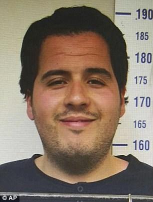 Φωτογραφία του Ιμπραχίμ Μπακράουι κατά τη σύλληψή του από τις τουρκικές Αρχές
