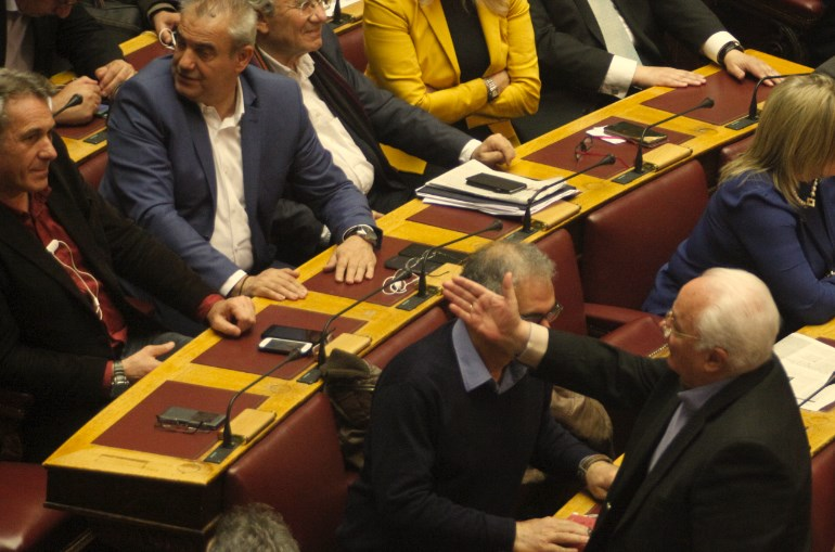 Ο βουλευτής του ΣΥΡΙΖΑ, Γ. Πάντζας