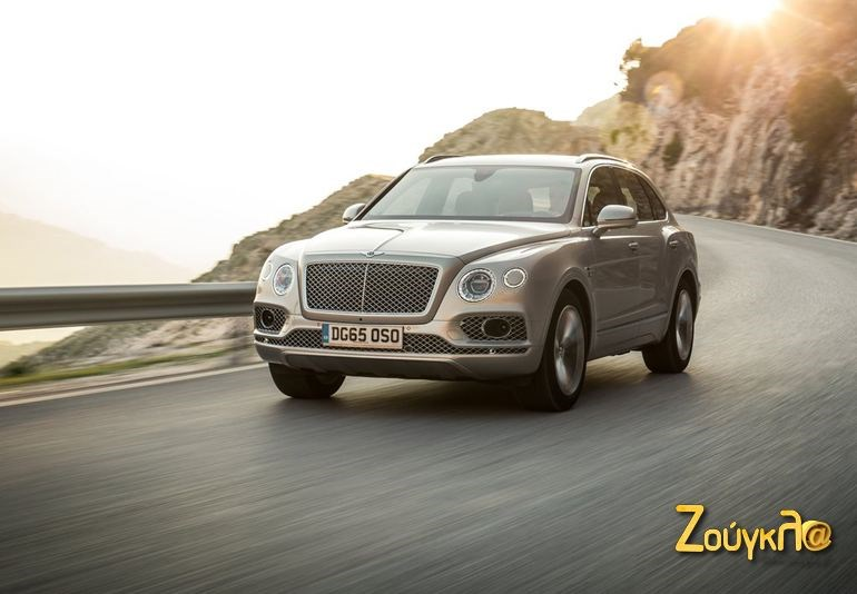Η Bentley Bentayga...