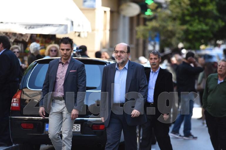 Ο αναπληρωτής υπουργός Οικονομίας, Τρύφων Αλεξιάδης