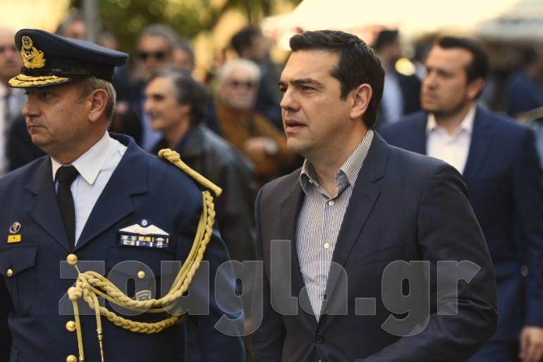 O πρωθυπουργός Αλέξης Τσίπρας