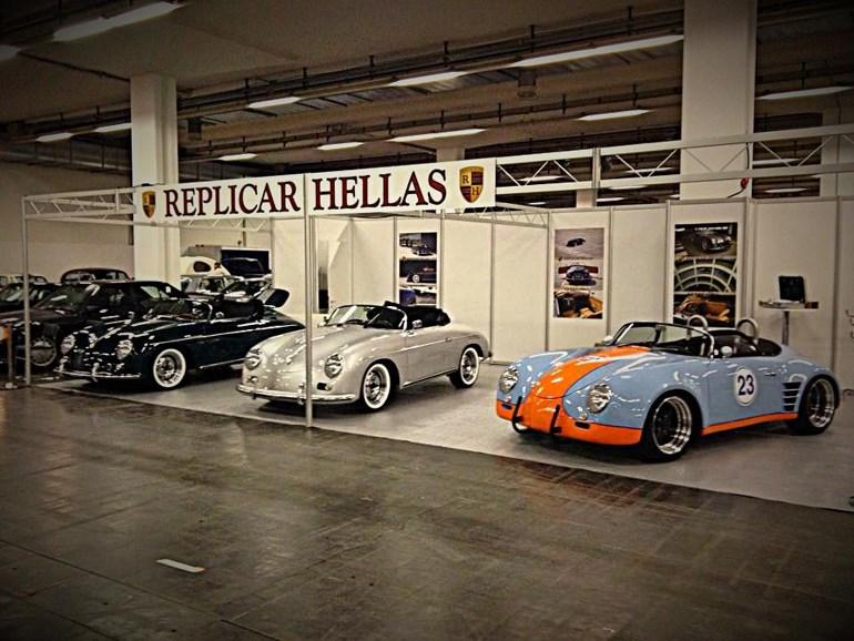 Η Replicar Car Hellas έχει δώσει το παρών σε εκθέσεις του εξωτερικού...