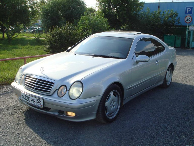 Mercedes CLK του 2000...