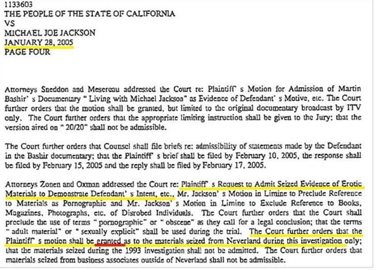 Έγγραφο που κατέθεσαν στο δικαστήριο και αποδεικνύει ότι είχαν δοθεί όλα τα στοιχεία