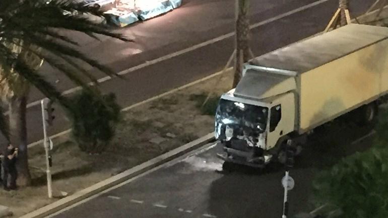 To φορτηγό που σκόρπισε τον θάνατο στη Νίκαια