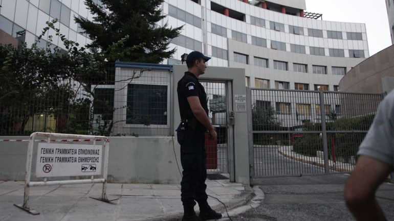 Aυξημένα μέτρα ασφαλείας στο κτήριο της Καλλιθέας