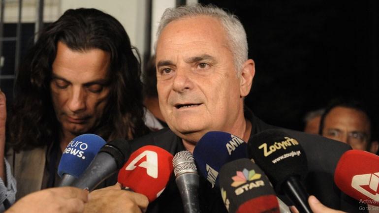 Ο διευθύνων σύμβουλος του ΣΚΑΪ, Κώστας Κιμπουρόπουλος