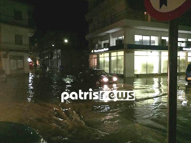 Πλημμύρες στην περιοχή του Κατακόλου