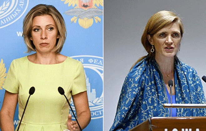 Maria Zakharova- Samantha Power
