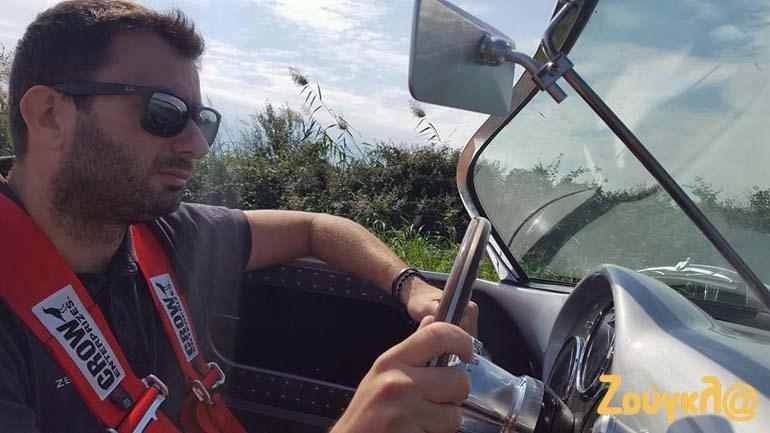 Η οδήγηση ενός μοντέλου της Replicar Car Hellas είναι μοναδική εμπειρία...