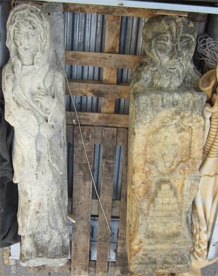 Τα αγάλματα που βρέθηκαν κρυμμένα σε πηγάδι της Νεμέας