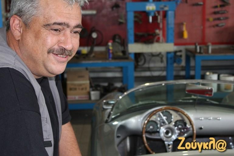 Ο Ηλίας Γαγανέλης έχει παλέψει πολύ για να καταφέρει να δημιουργεί αυτοκίνητα με ελληνικό όνομα!