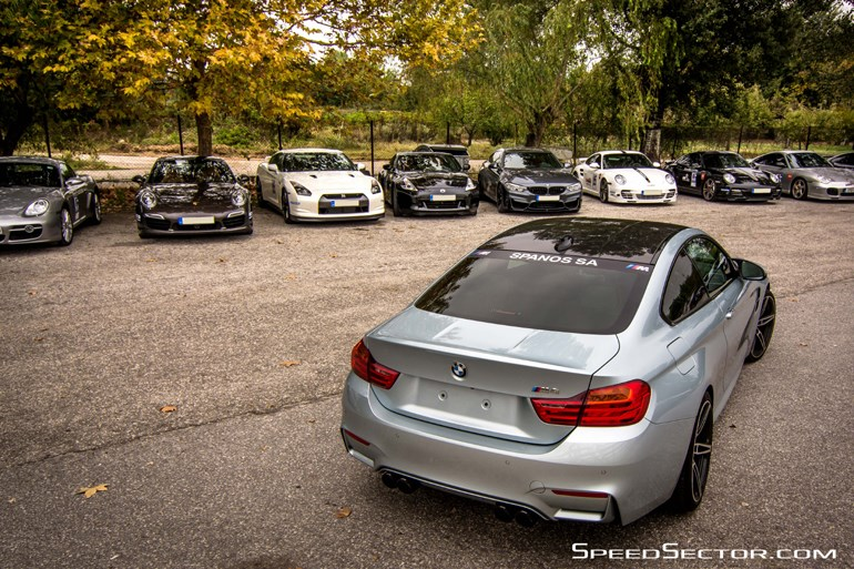 Η BMW M4 κοτά στα... μάτια τον ανταγωνισμό