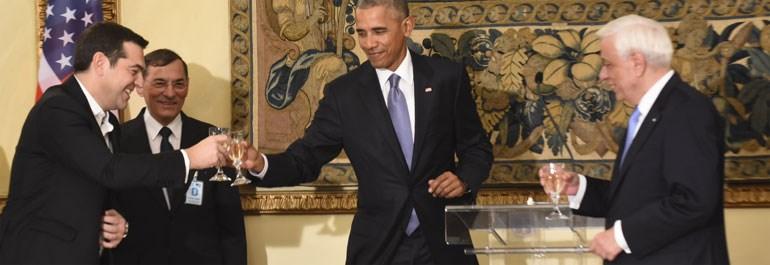 'Στην υγεία μας' ευχήθηκε ο Ομπάμα