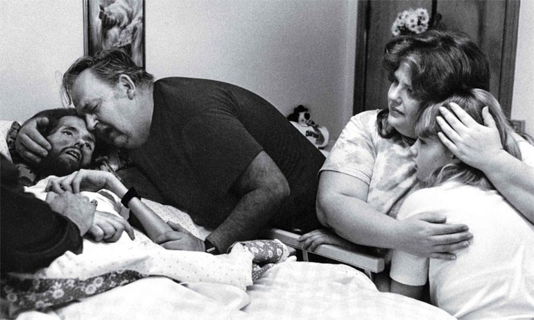 To «πρόσωπο» του AIDS (1990)