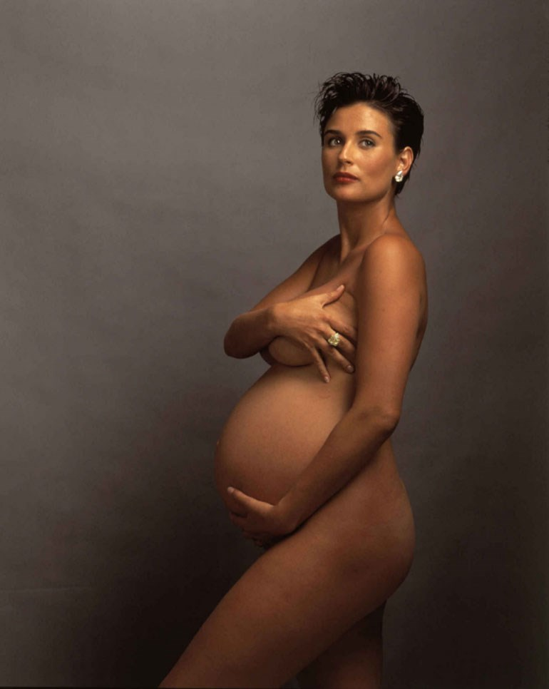 Η εγκυμονούσα Demi Moore (1991)