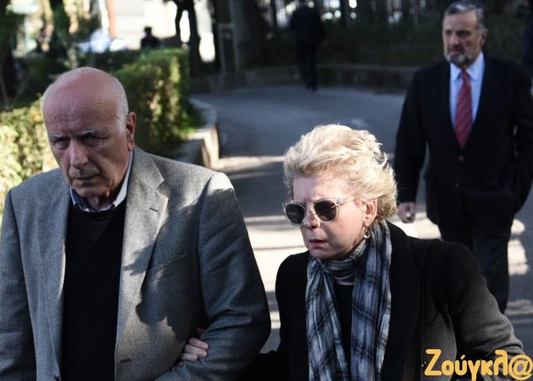 O Γ. Κυρίτσης με την Έλενα Ακρίτα