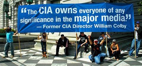 «H CIA έχει στην ιδιοκτησία της όποιον έχει σημασία στα ΜΕΓΑΛΑ MEDIA» είχε δηλώσει ο διατελέσας διευθυντής της υπηρεσίας William Colby