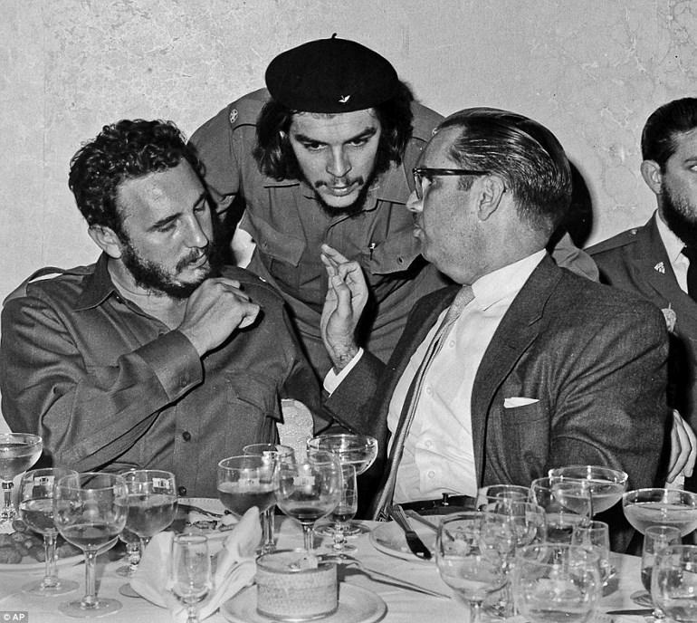 Με τον επαναστάτη Τσε Γκεβάρα στην Αβάνα (1960)