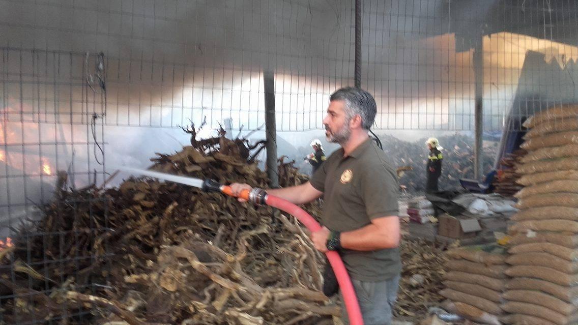 Συνδρομή σε δασικές πυρκαγιές