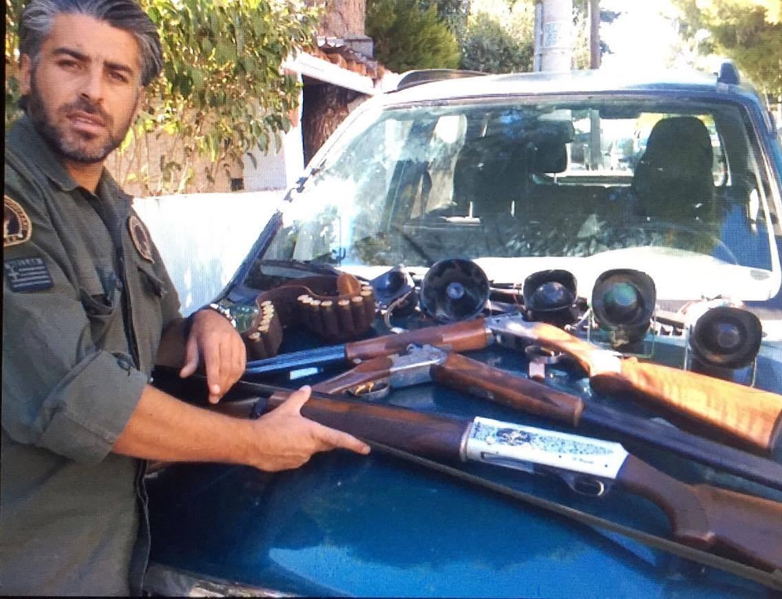 Κατάσχεση παράνομου οπλισμού