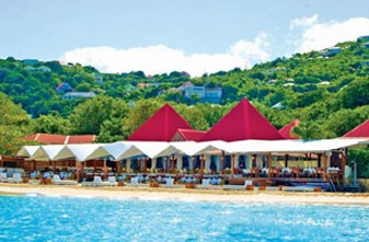 H διάσημη Nikki Beach in St. Bart's