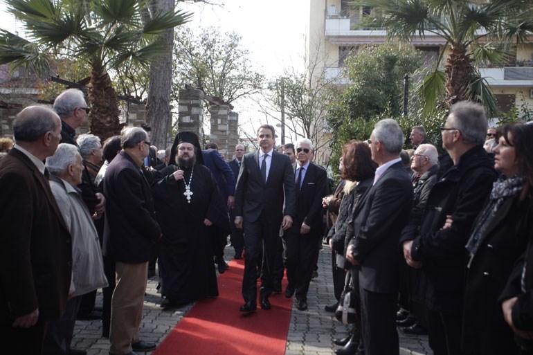 Ο πρόεδρος της Νέας Δημοκρατίας Κυριάκος Μητσοτάκης