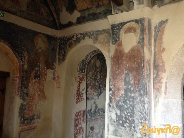 Φθορές στις αγιογραφίες, από την περίοδο της Τουρκοκρατίας